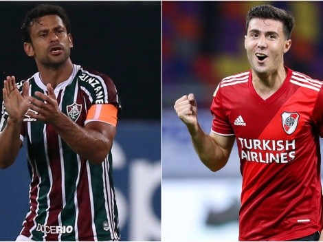 Fluminense and River Plate meet today at the Maracana Stadium