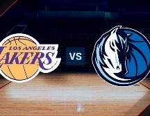 Los Angeles Lakers vs. Dallas Mavericks por la NBA.