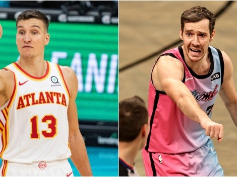The IC clash: Bogdanovic of Atlanta Hawks faces Dragic of Miami Heat