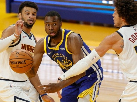 The Warriors and the Nuggets meet for the third time this season