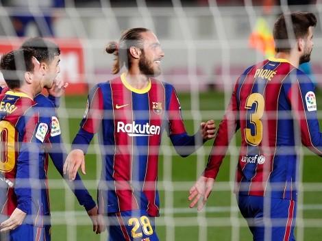 Barcelona metió 5 y depende de sí mismo para ser campeón de LaLiga