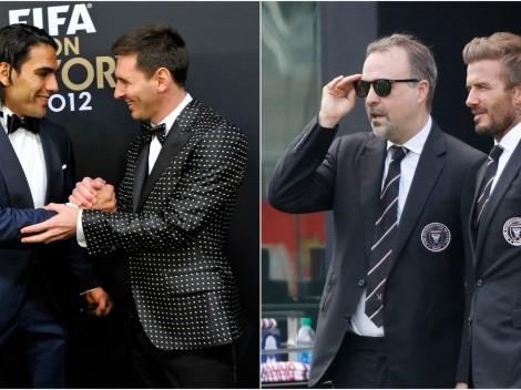 El año en el que Beckham podría juntar a Falcao con Messi en Inter Miami