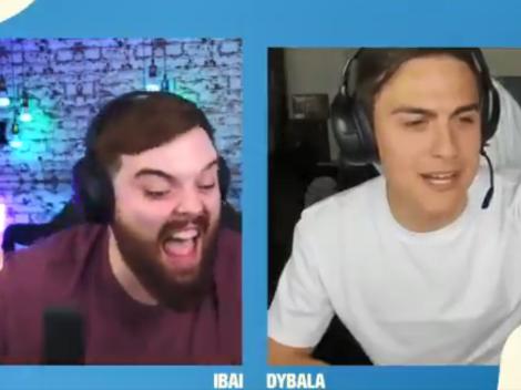 La anécdota de Dybala en un Argentina-Chile que hizo estallar de risa a Ibai