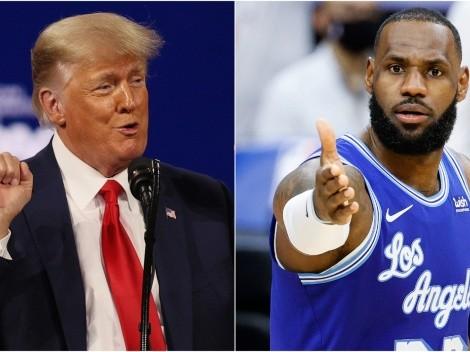 """El nuevo ataque de Trump a LeBron: """"Preside la destrucción de la NBA"""""""