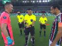 Video: Tobar le hizo un chiste a Armani sobre los colores de Boca