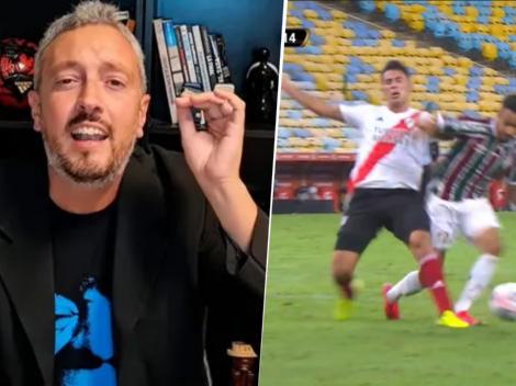 """Carrozza explotó con el penal que no le cobraron a Fluminense: """"Como todos los años"""""""
