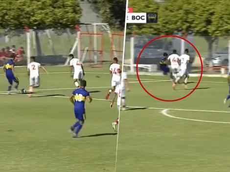 Video: demencial jugada y asistencia de rabona de Zeballos