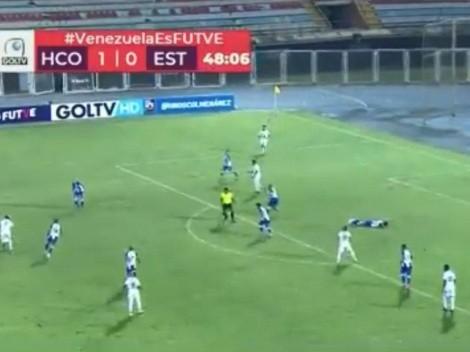 Gol en contra de un lesionado: lo más insólito del 2021 pasó en Venezuela