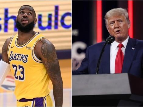 Former POTUS Donald Trump takes another massive shot at LeBron James