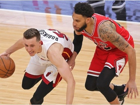 Heat and Bulls square off in a must-win game
