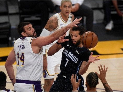The Lakers visit Orlando to meet the struggling Magic