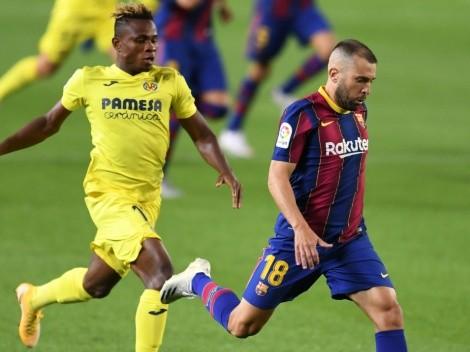 Barcelona play away at Villarreal in La Liga Round 32