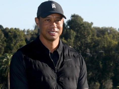 La primera imagen de Tiger Woods tras accidente automovilístico
