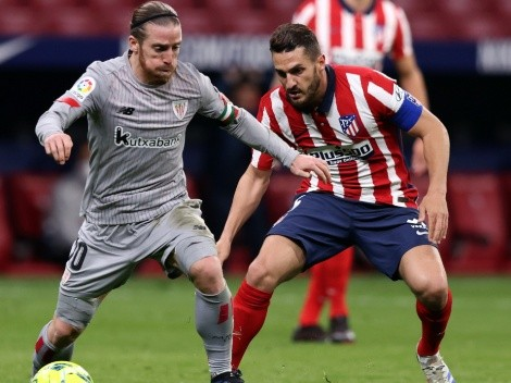 La Liga leaders Atletico Madrid clash with Athletic Club in bid to keep top spot