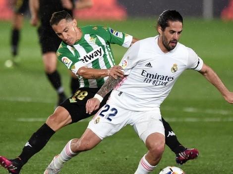 Betis igualó frente a Real Madrid con Guido Rodríguez como figura