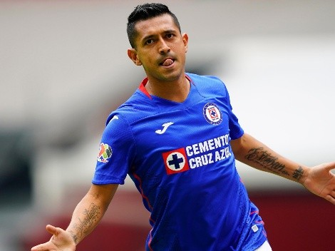 Cruz Azul ya se adelanta frente a San Luis gracias al gol de Elías Hernández