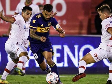 """El pedido de Tevez para Russo en medio del partido: """"No me saques, Miguel"""""""