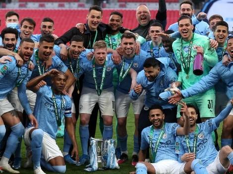 Otro para la vitrina de Pep: Manchester City es campeón de la Carabao Cup