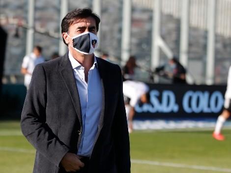 Gustavo Quinteros contento con el triunfo de Colo Colo en el Superclásico