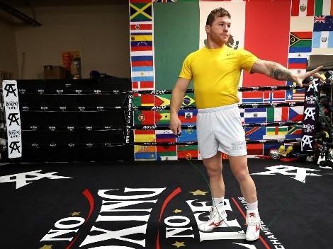 Canelo Álvarez llamó perdedor por adelantado a Billy Joe Saunders