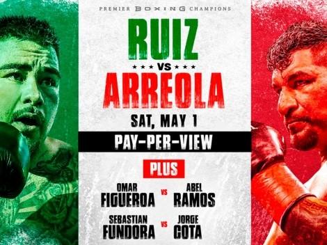 Andy Ruiz vs Chris Arreola: Fecha, hora y canal para ver en vivo la pelea de pesados con sangre mexicana