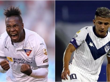 Liga de Quito and Vélez face off in Matchday 2 of the Copa Libertadores 2021