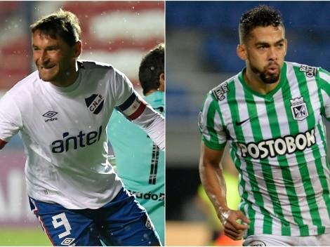 Nacional host Atlético Nacional tonight in a duel between former Copa Libertadores champions
