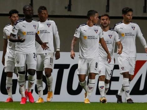 Liga de Quito barrió a Vélez en un partidazo en Quito