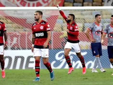 Flamengo golea a Unión La Calera en el Maracaná