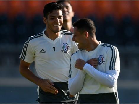 Con Raúl en duda: ¿Merece Chicharito regresar al Tri?