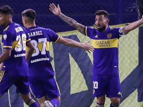 Tevez se metió en el Top-10 de goleadores históricos de Boca