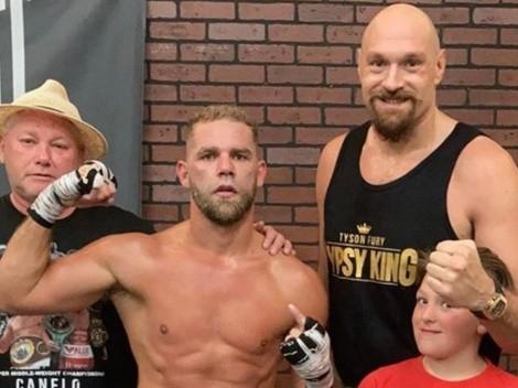 Instagram: Tyson Fury insultó a Eddie Hearn por ocuparse más de Canelo Álvarez que de Saunders
