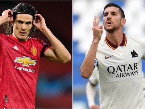 Manchester United and Roma face at Old Trafford in the first leg of the Europa League Semi-Finals