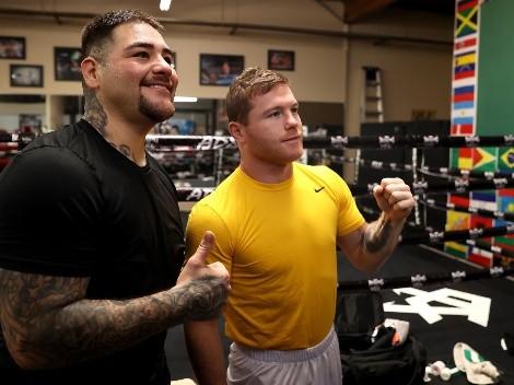 Canelo Álvarez reveló qué le dijo a Andy Ruiz cuando empezó a entrenar con Eddy Reynoso