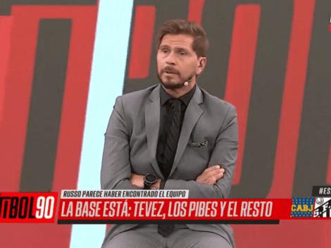"""Vignolo sacó a la luz en vivo una anécdota de Tevez: """"No se va a enojar"""""""