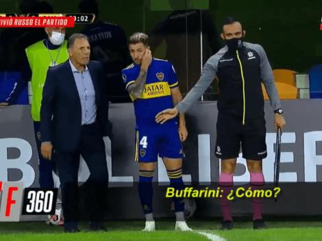 """Video: Russo mandó a la cancha a Buffarini y pidió que """"no hagan cag..."""""""