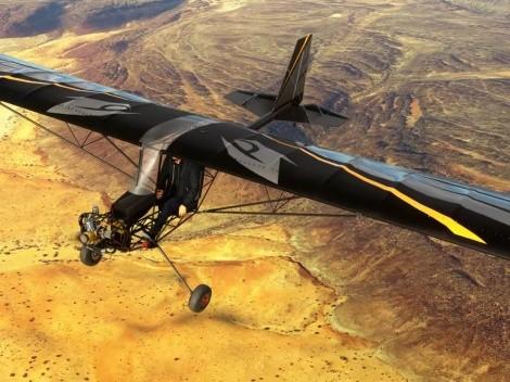 Microsoft Flight Simulator recibe su primer avión ultraligero