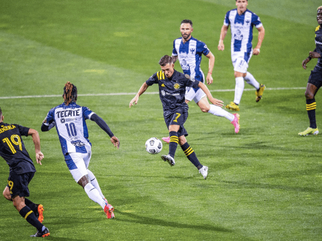 Alvarado le da un agónico empate a Rayados de Monterrey