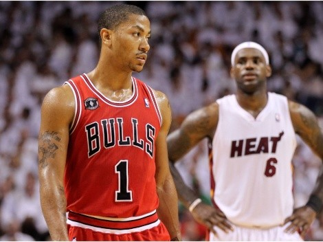 Derrick Rose reveals he tried to lure LeBron James to the Chicago Bulls