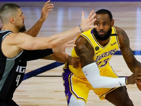 The Lakers clash with the Kings this Friday in NBA