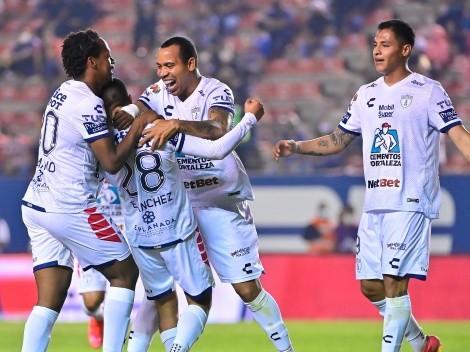 Sonríe Atlas y sufre Pumas: Pachuca goleó a Atlético San Luis