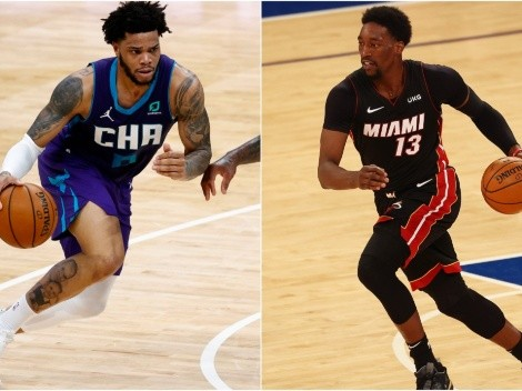 Hornets host Heat in potential playoff preview