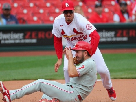 VIDEO: Philadelphia Phillies se venga de St. Louis Cardinals por pelotazo a Bryce Harper