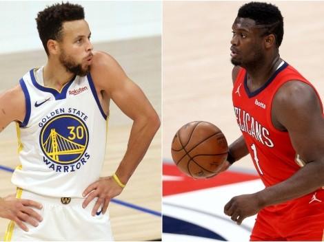 Stephen Curry y Zion Williamson jugarán partido especial que unirá a NBA con Marvel