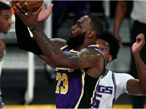 LeBron James regresó, pero Los Angeles Lakers perdieron ante Sacramento Kings