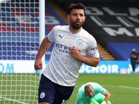 Manchester City acaricia la Premier: triunfo 2 a 0 y golazo de Agüero