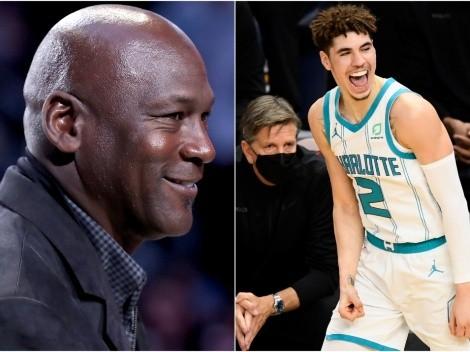 Celebra Michael Jordan: LaMelo Ball vuelve a jugar en Charlotte Hornets
