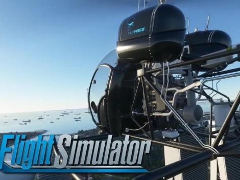 Los helicópteros llegan a Microsoft Flight Simulator con este DLC
