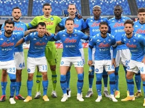 Con Chucky Lozano como titular, Napoli igualó ante Cagliari