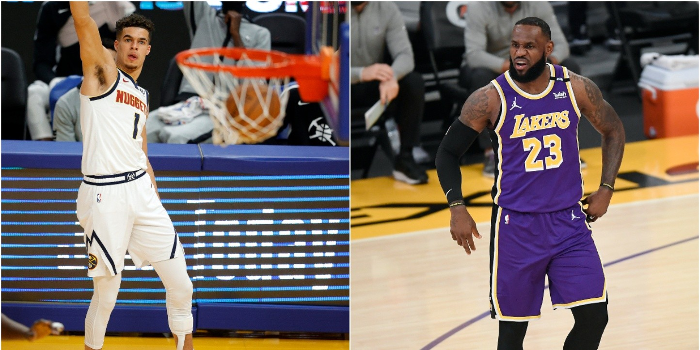 EN VIVO Nuggets vs. Lakers por temporada de la NBA 2020-21 (Fuente: Getty).